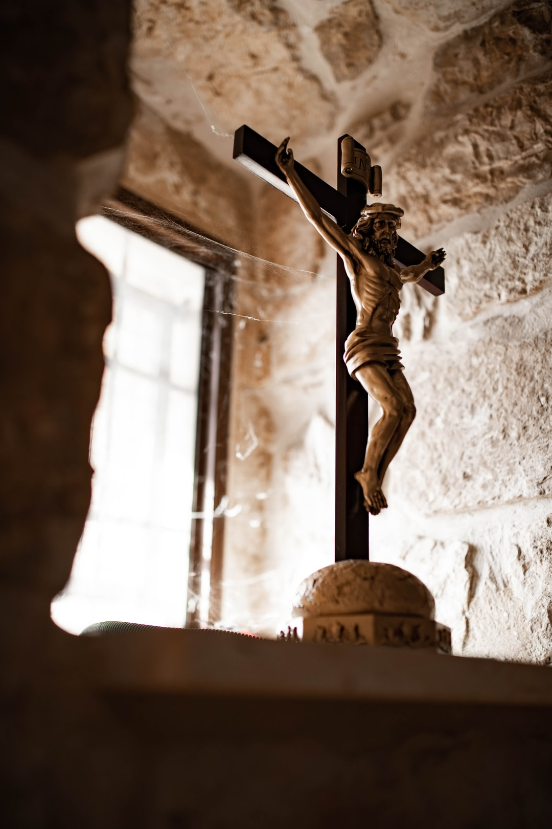 Here is a crucifix I photographer while visiting a Maronite Church in Baram National Park - near Jish, Israel