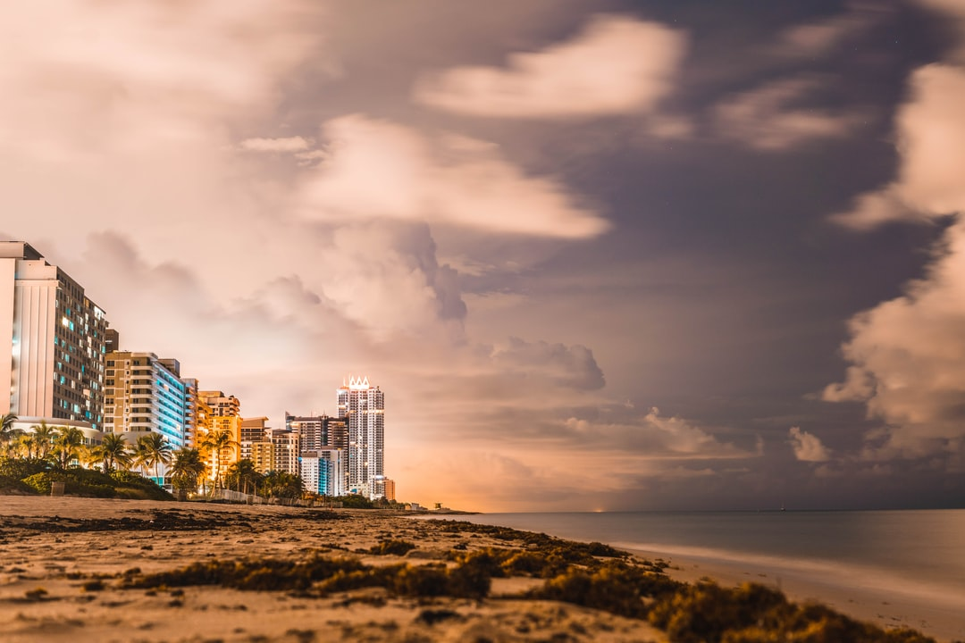 Long Exposure Right After Sunset On the Beach.  - unsplash