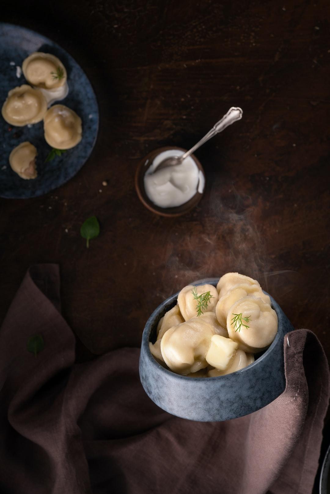 Dumplings/ Oil   phototastyfood.ru