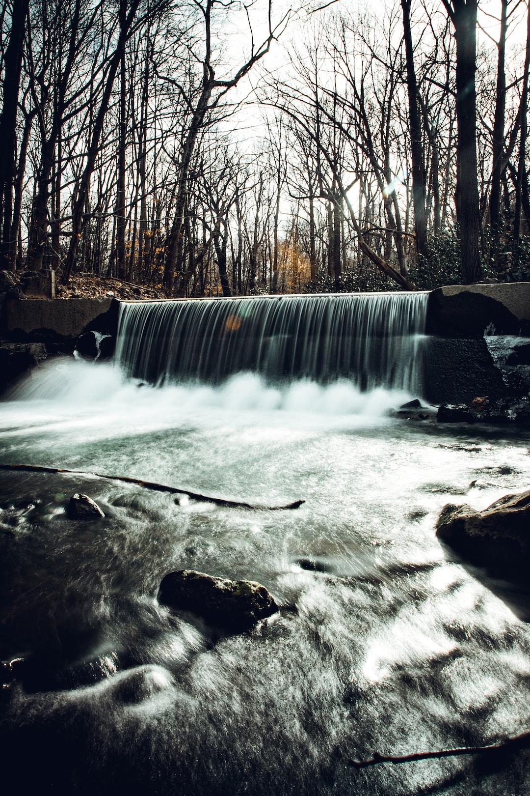 Waterfall in Laurelville Pennsylvania