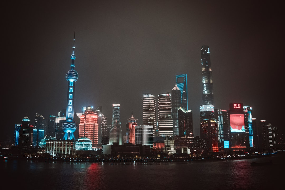 Shanghai Skylines. - unsplash