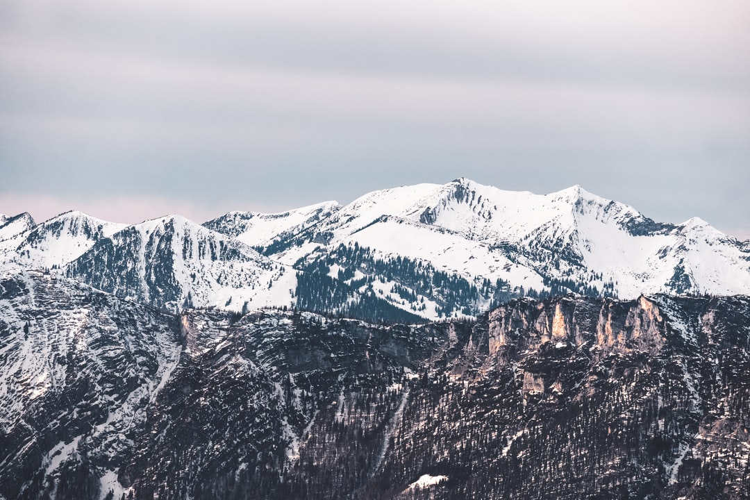 Snow Covered Mountain During Daytime - unsplash