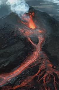 Volcanic climb ( A dream)  church stories