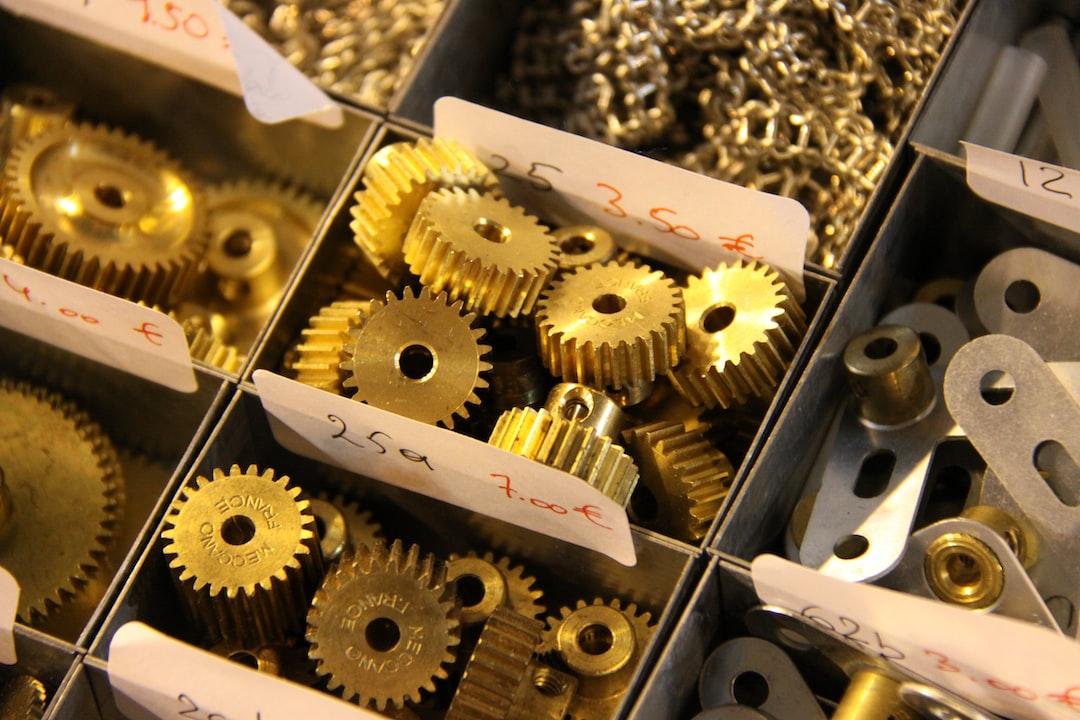 brass gears