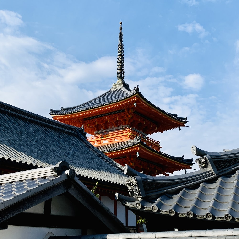 brown and white temple under blue sky during daytime