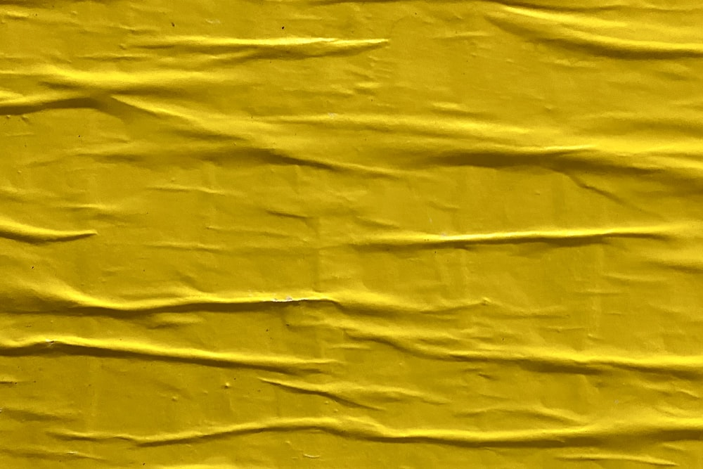 yellow textile with black shadow