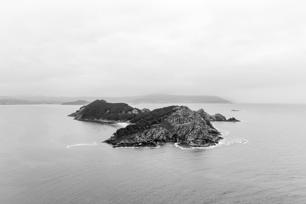 a snippet of a cluster of islands: Cies island: Things to do in Vigo