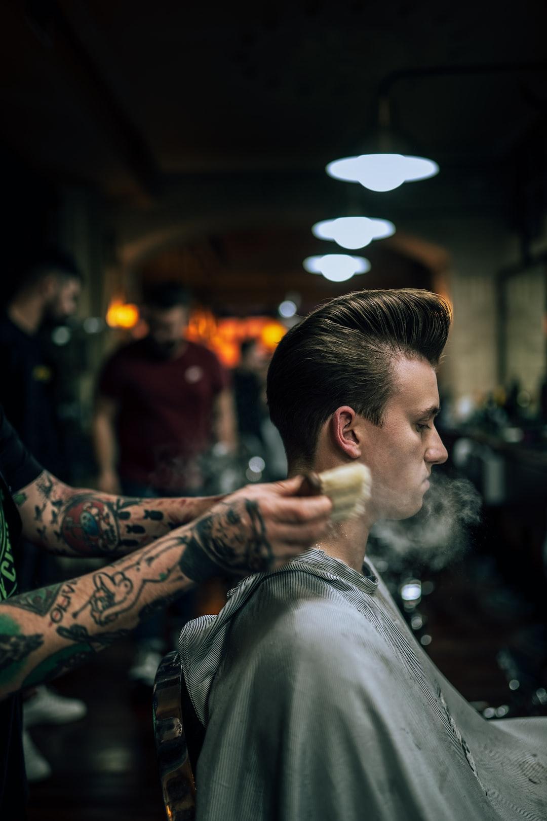 A barbershop Photographer vision. Shoot on Sony A7III + Sigma 35mm 1.4