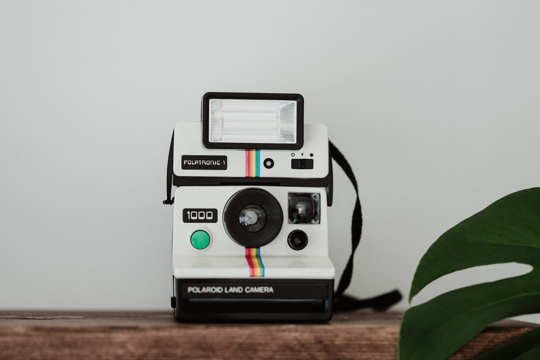 Polaroid Land Camera. - unsplash