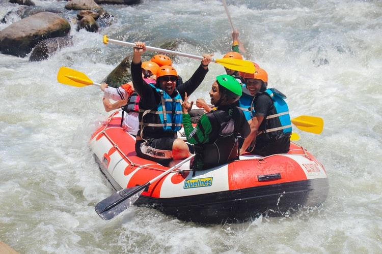 White Water Rafting, Best Adventure Activities in Bali