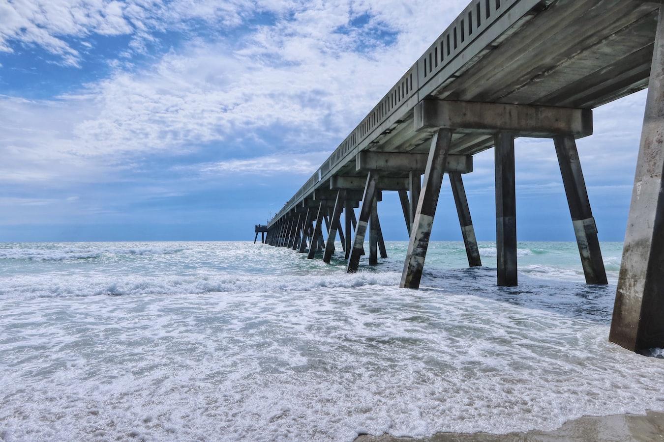 a pier in Wilmington, North Carolina