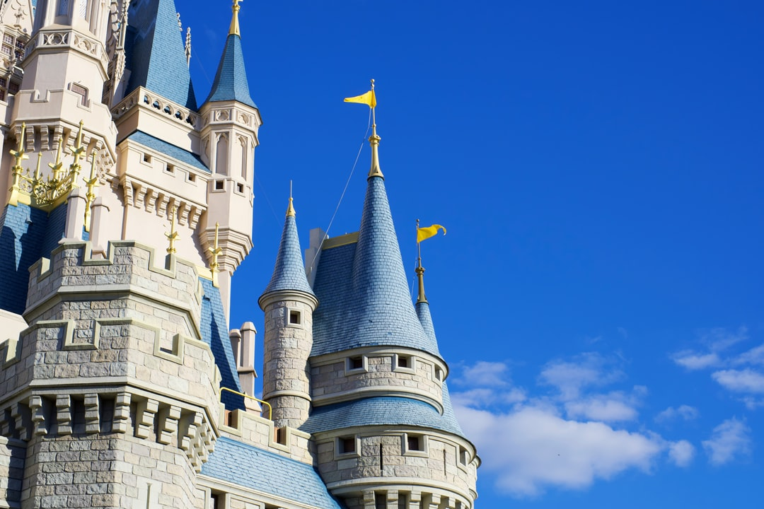 Side view of Cinderella Castle from a recent trip to Walt Disney World.