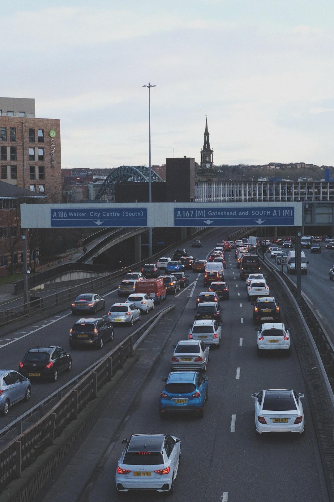 Peak Hour - Newcastle Upon Tyne - Feb 2020