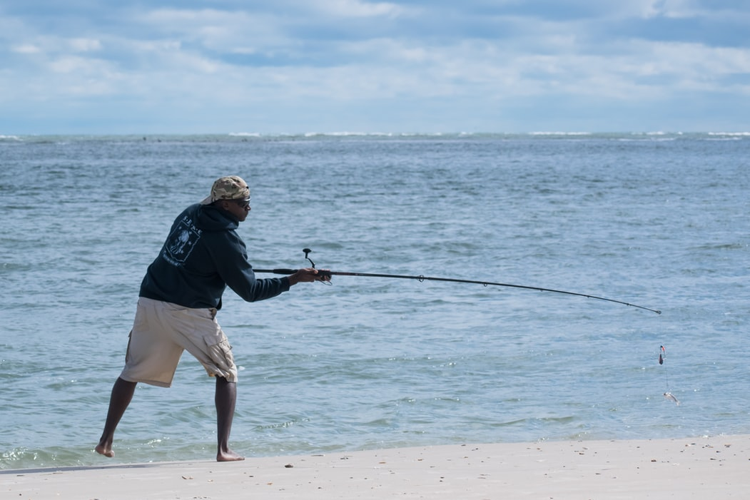 how to throw a fishing rod