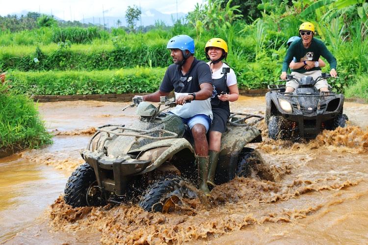 Lunch and an adventurous ATV ride in Bali, Best Adventure Activities in Bali