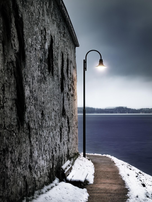 Trusting winter. Whatever  lies around the corner — it will be good.