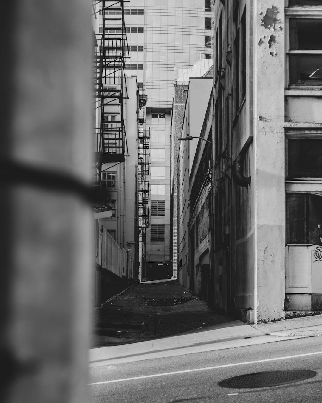 Into the Alley   Seattle, Washington
