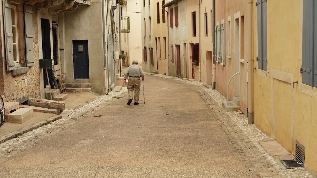 Old man on the street