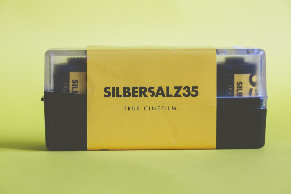yellow and black cigarette pack
