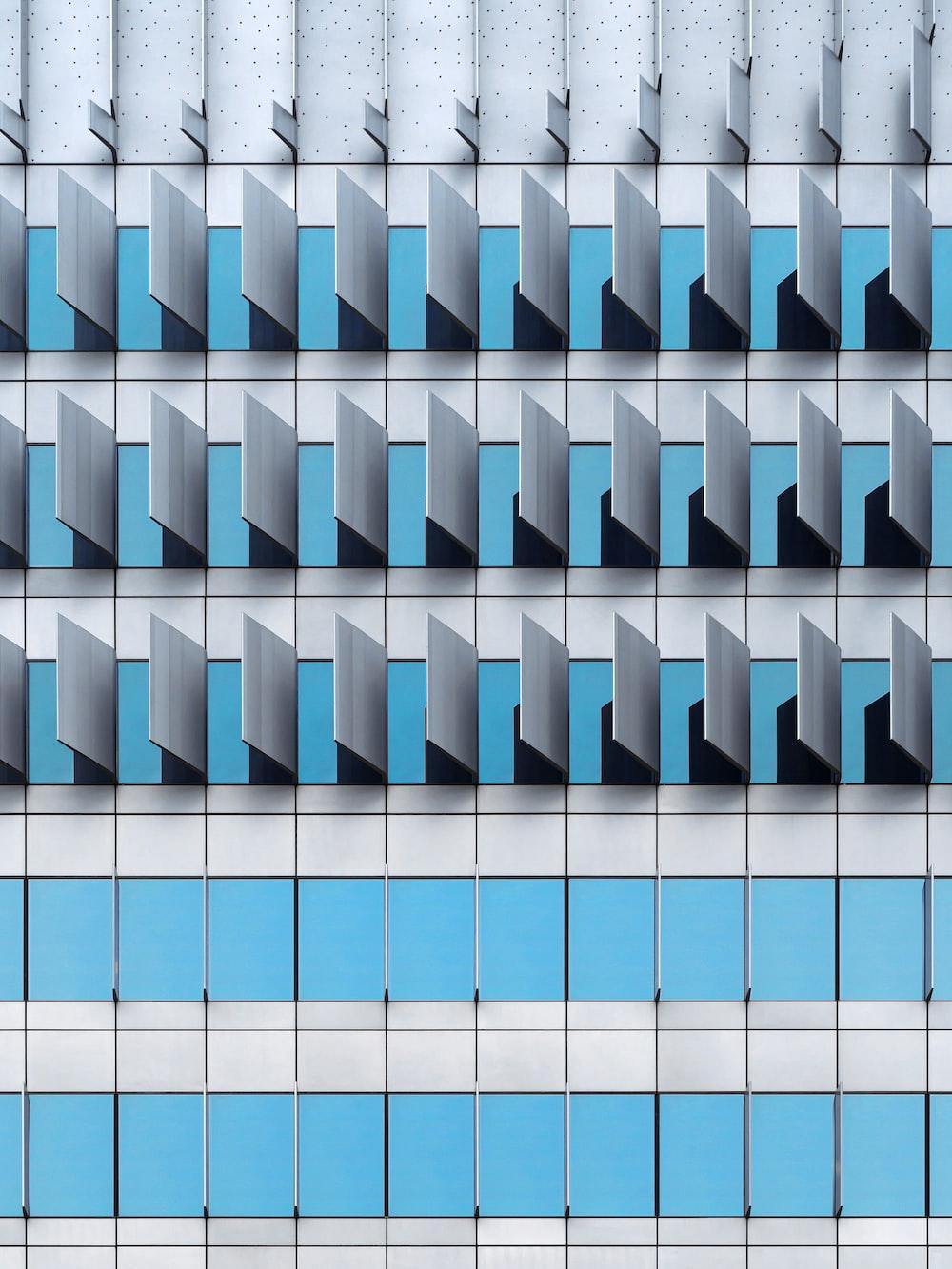 blue and white checkered illustration