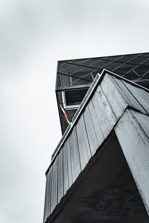 black and gray concrete building