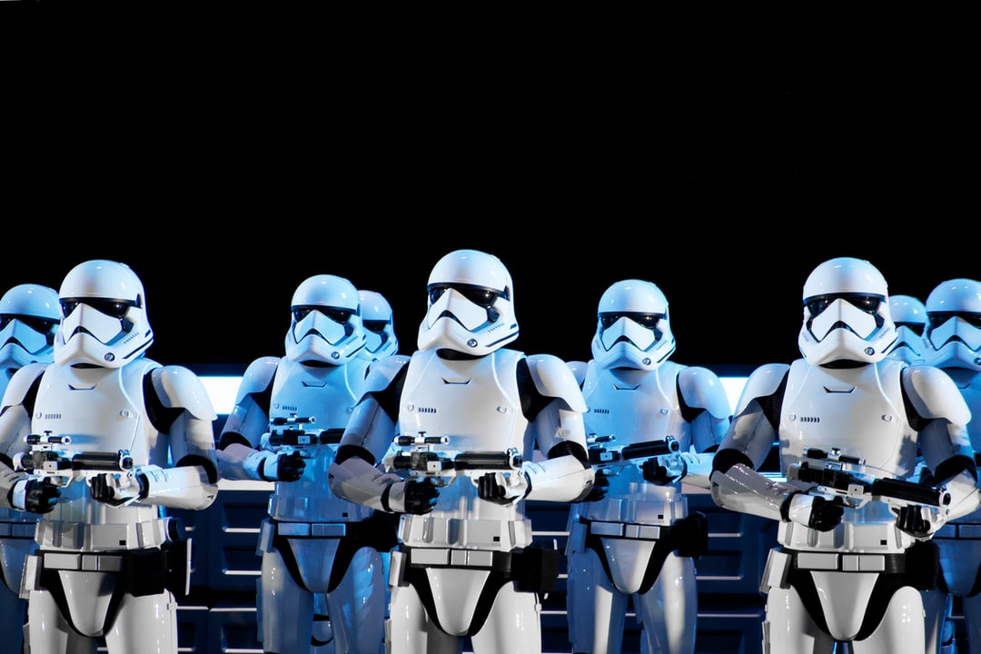 Stormtroopers from a recent trip to Walt Disney World.