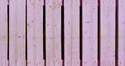 green and white wooden fence