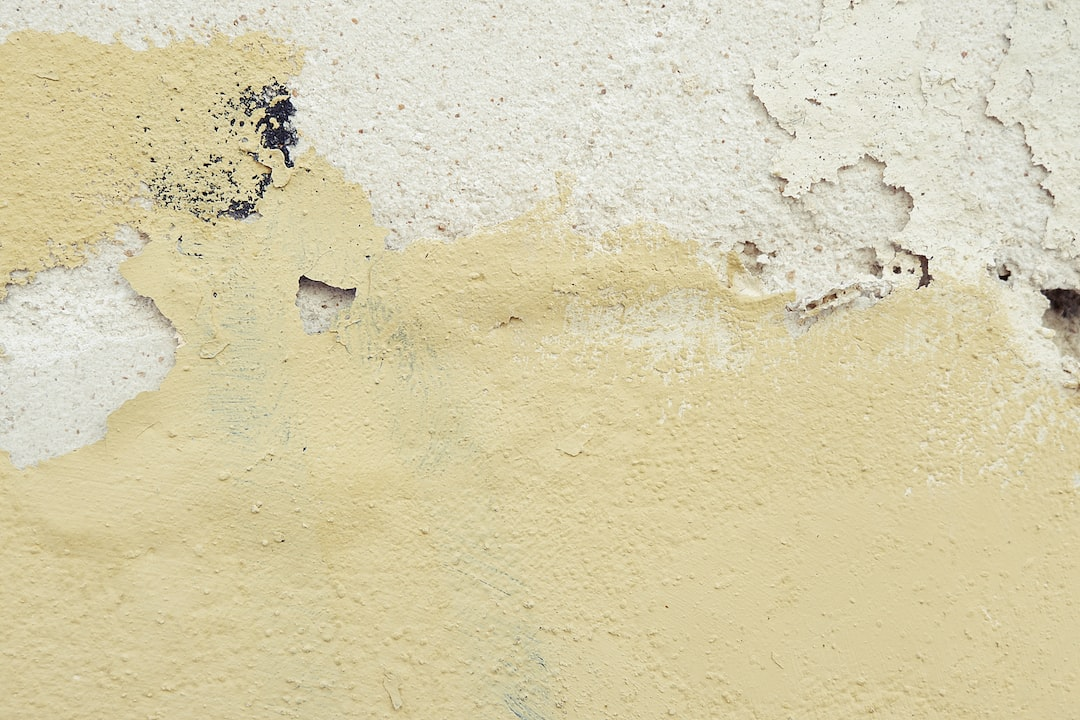Distressed Painted Plaster