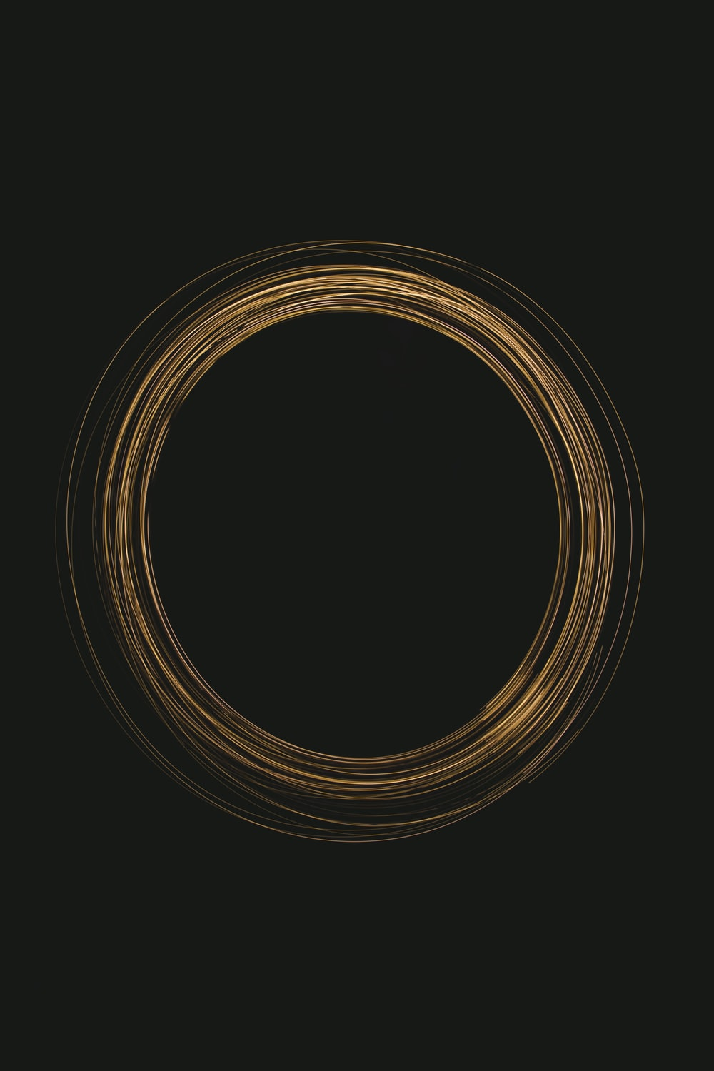 brown and black round illustration