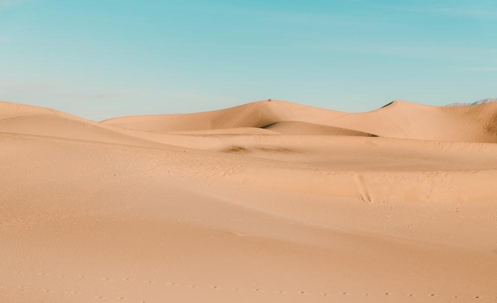 desert under blue sky during daytime
