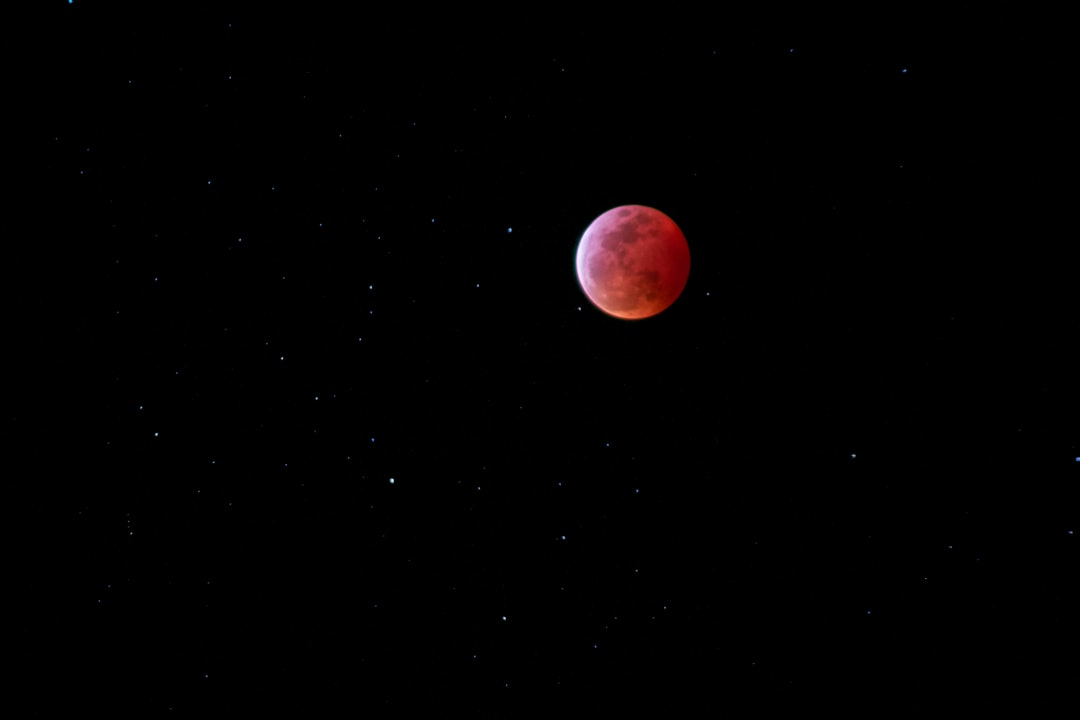 January 2019 Lunar Eclipse as seen from Southern California.