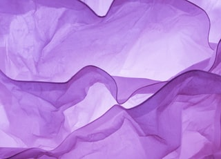 purple textile on white textile