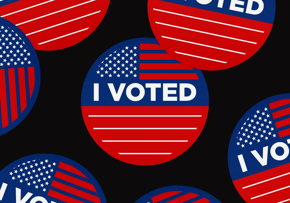 I voted #USelections2020