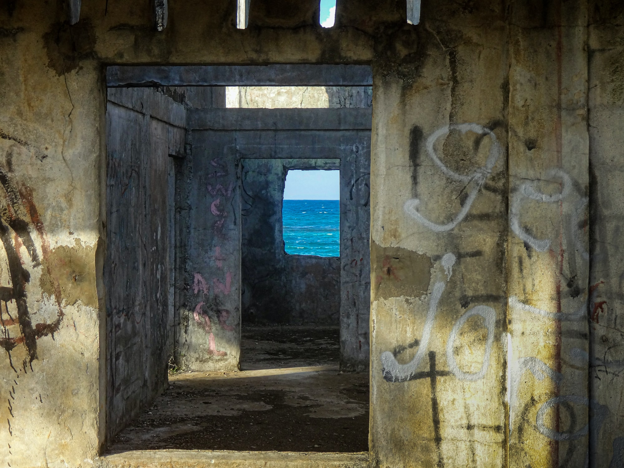 Old World War II Bunkers / Relics around Townsville