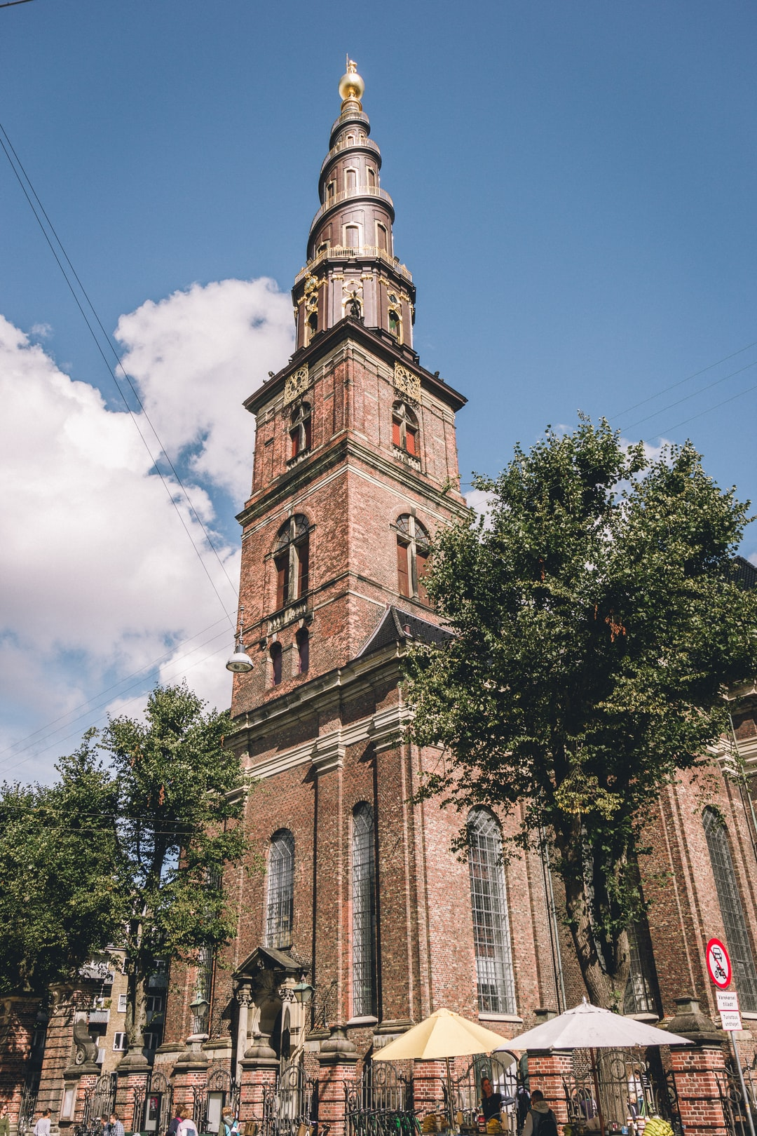 View on Copenhagen's tallest and most beautiful church