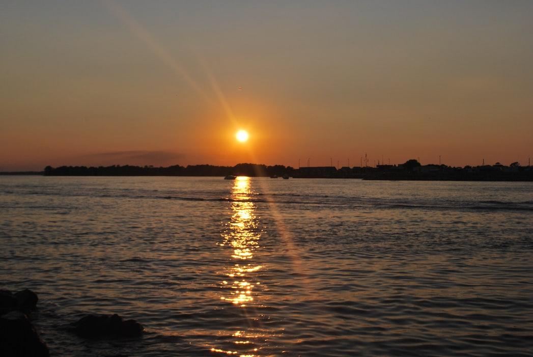 Sunset at Bethany beach