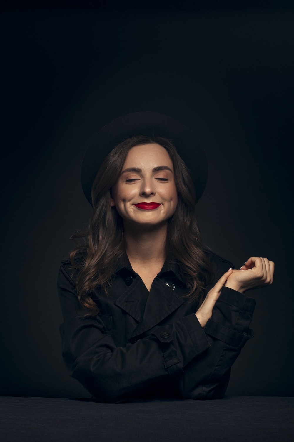Black Background Girl Pictures Download Free Images On Unsplash Great quality, free and easy to download under this boring piece of text, we present you our greatest black wallpapers that we've gathered along our journey to beautify your desktop or. black background girl pictures