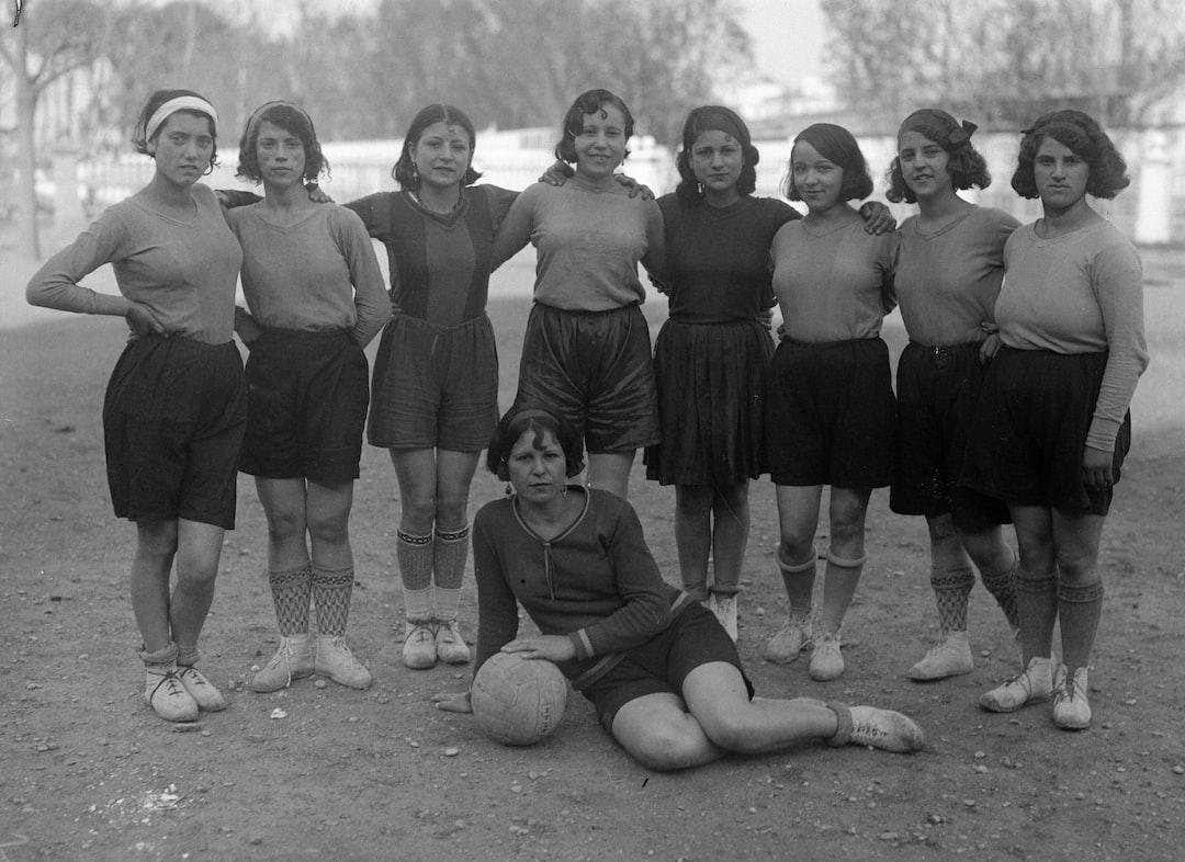 1930's women's soccer team