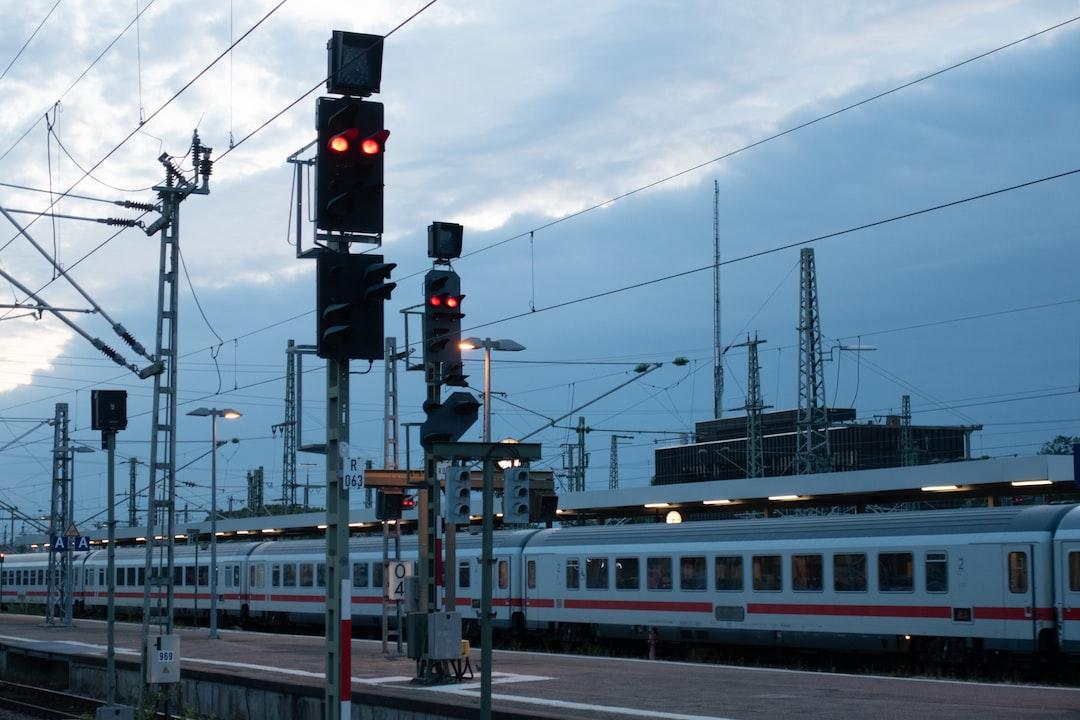 Stuttgart Train Station in the Morning