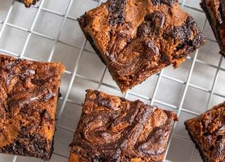 Peanut Butter & Chocolate Swirl Brownies