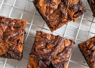 Peanut Butter & Chocolate Swirl Brownies