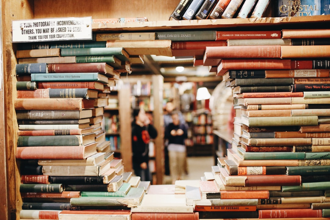 Library book window