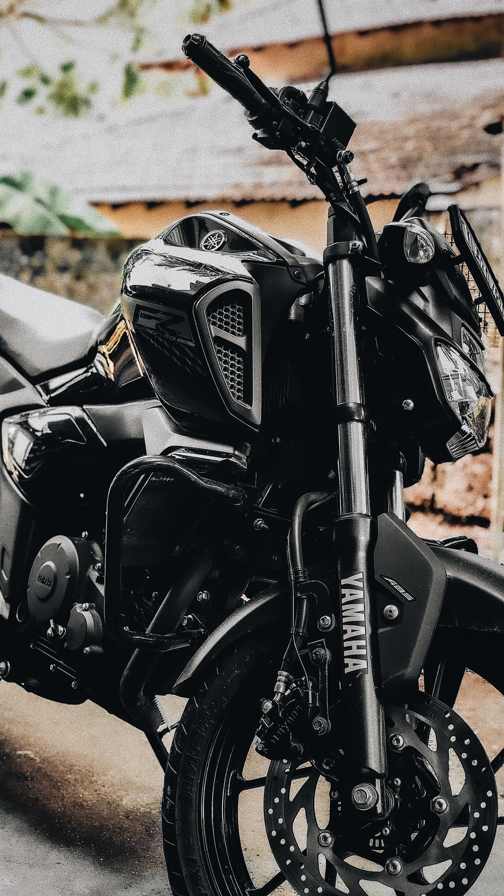 black and gray motorcycle during daytime