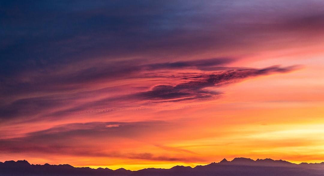 Magic sunsets .