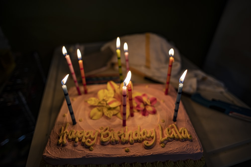 Strange Birthday Cake Candles Pictures Download Free Images On Unsplash Funny Birthday Cards Online Elaedamsfinfo