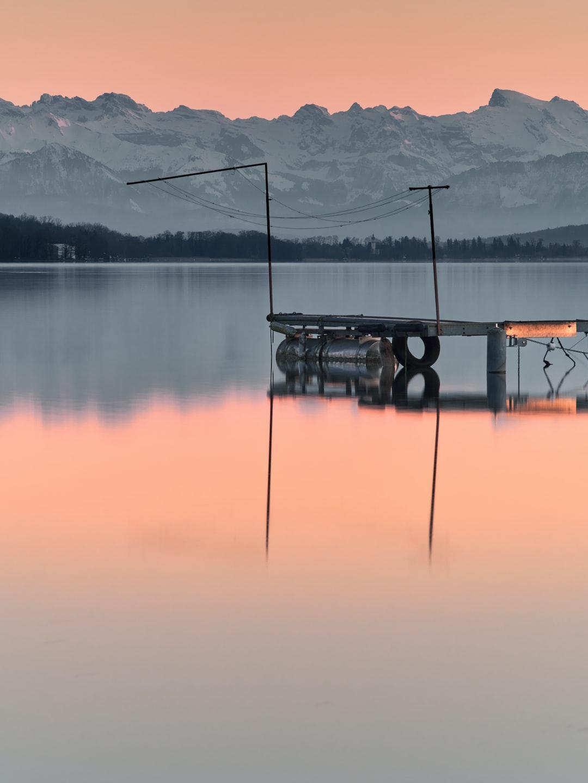 Winter in Lake Hallwyl
