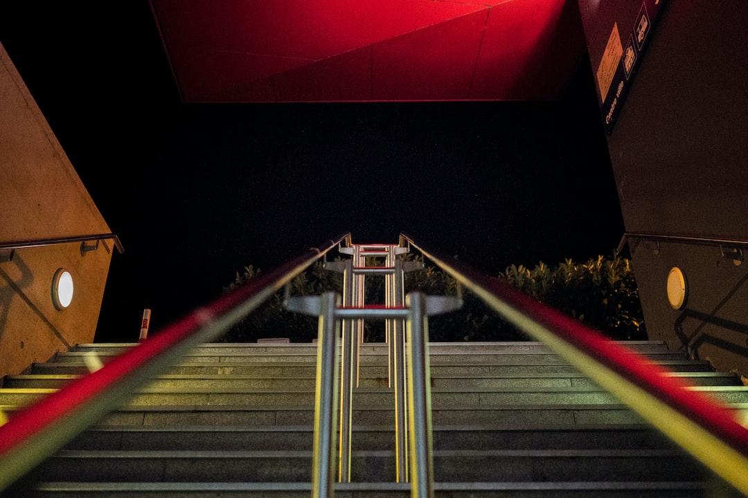 Stairway to the dark night