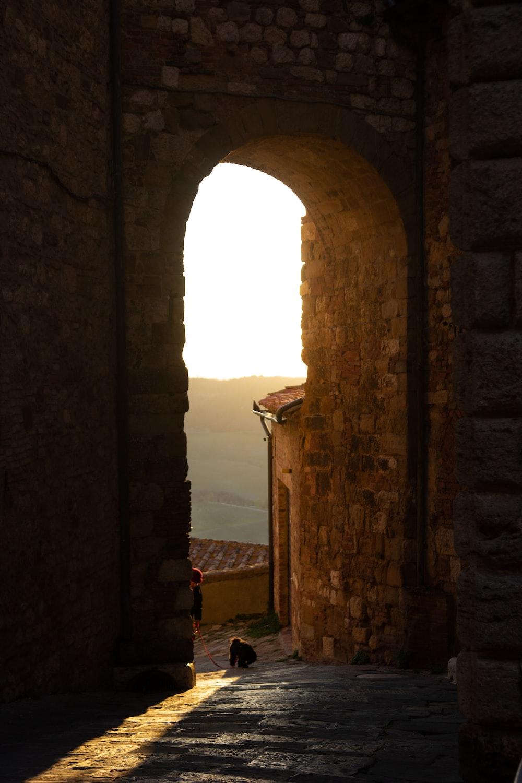 brown brick arch during daytime