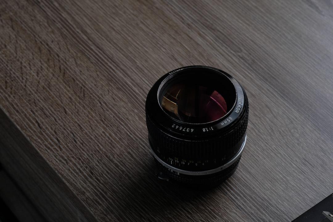Nikon Lens - 85mm 1.8