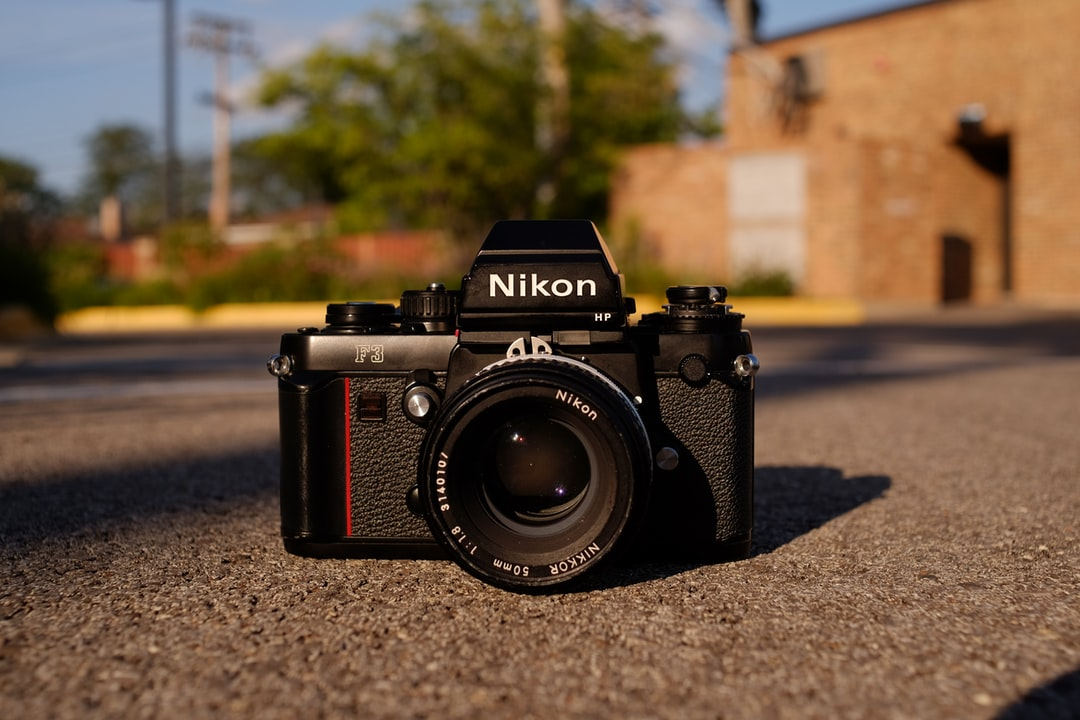 Nikon F3 film camera looking lovely in the sun.